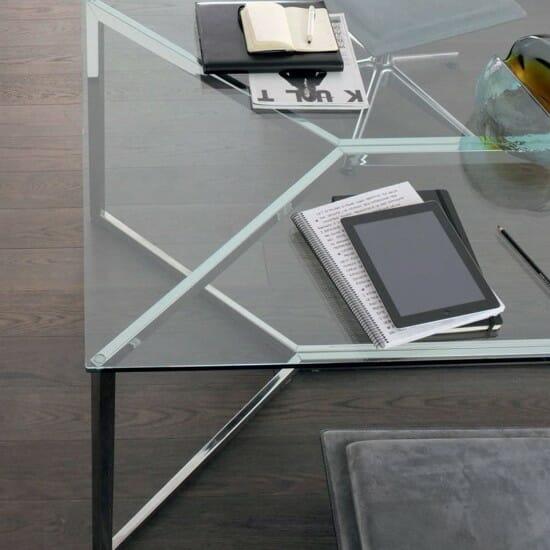 Boardroom table / glass