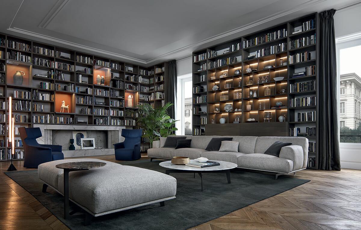 Librerie archivi bliving